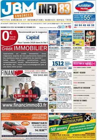 journal gratuit novembre 2018 numero 261