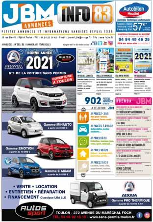 journal gratuit janvier 2021 numero 282