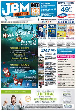 journal gratuit décembre 2016 numero 238