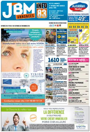 journal gratuit octobre 2016 numero 236