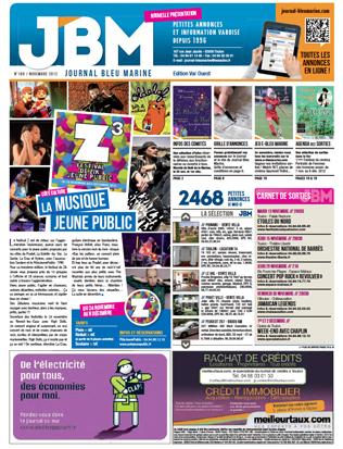 journal gratuit novembre 2012 numero 189