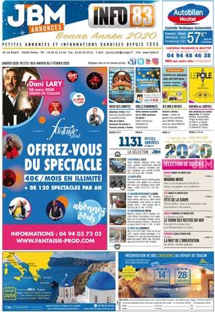 journal gratuit janvier 2020 numero 275