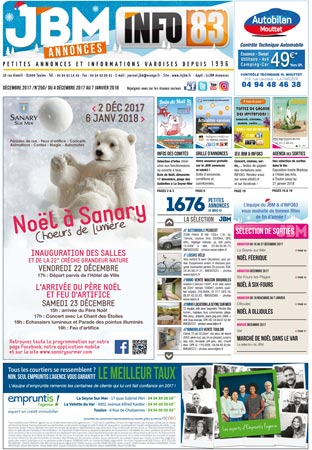 journal gratuit décembre 2017 numero 250