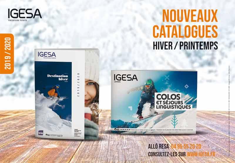 CATALOGUES HIVER-PRINTEMPS 2019/2020