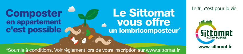 Composter en appartement c'est possible